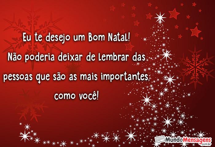 Eu te desejo um Bom Natal