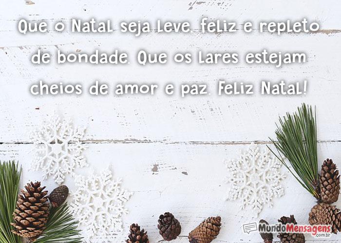 Mensagem Natal Feliz