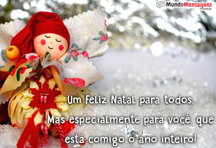 Um Feliz Natal para todos