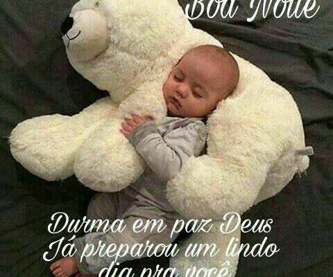 Boa noite durma em paz
