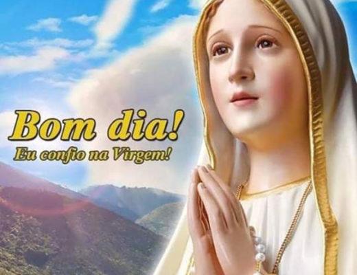 Bom Dia Eu confio na Virgem