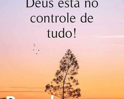 Deus está no controle de tudo