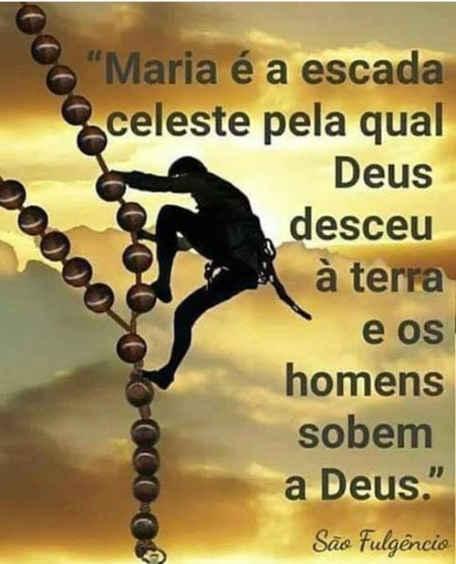 Maria é a escada celeste