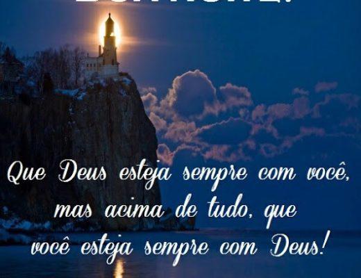 Que Deus esteja sempre com você