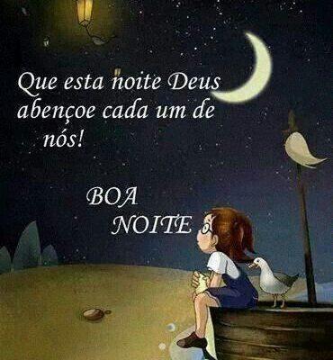 Que está noite Deus abençoe