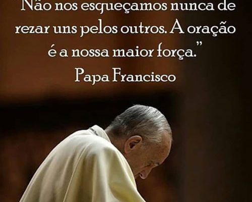 A oração é a nossa maior força