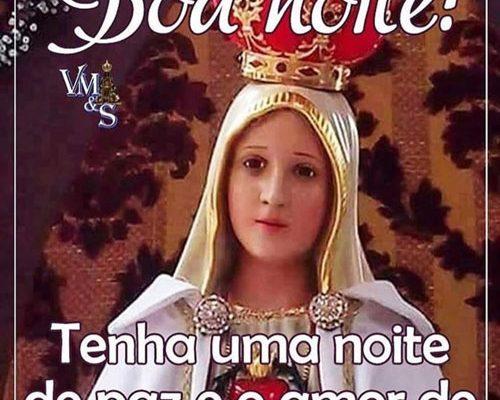 Boa Noite Amor de Maria no coração