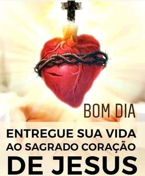 Mensagem Coração de Jesus