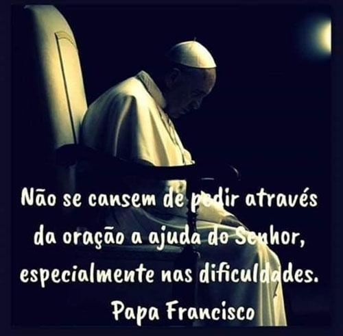 Não se cansem de pedir através da oração
