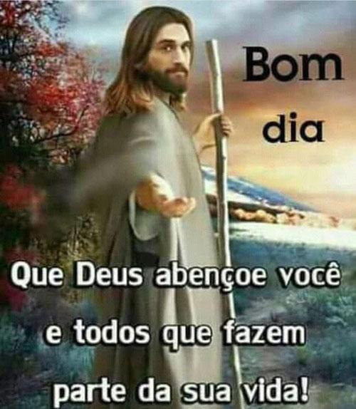 Mensagem Bom dia Jesus