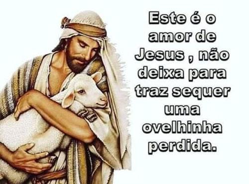 Este é o amar de Jesus