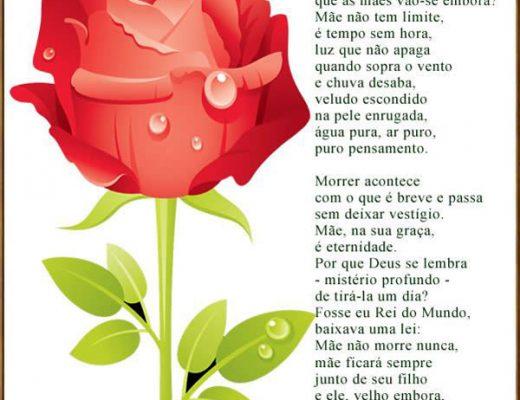 Para Sempre Mãe Mensagem Dia das Mães
