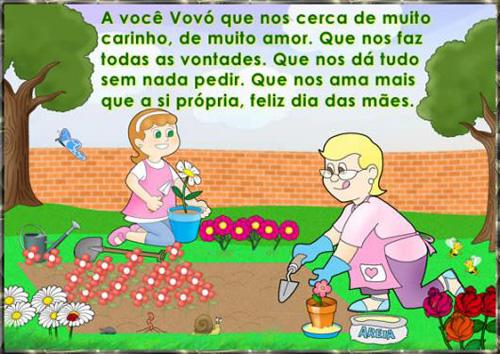 Vovó Feliz dia das Mães