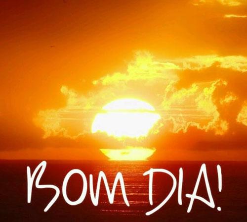 Bom dia Sol nascente