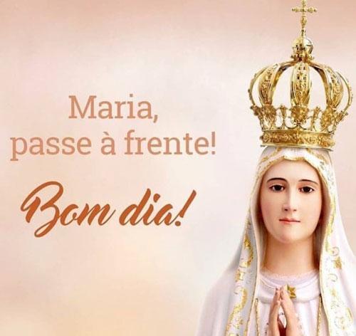 Maria passe à frente Bom dia