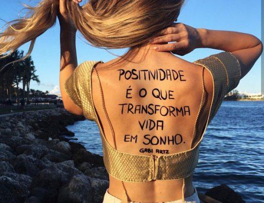Positividade é o que transforma