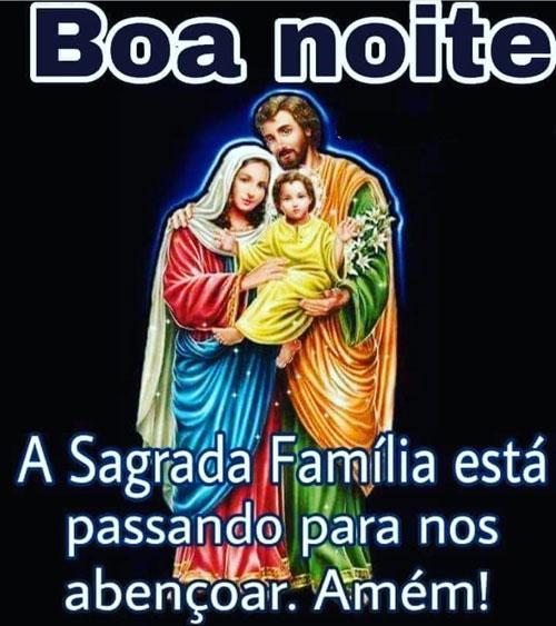 A Sagrada Família está passando