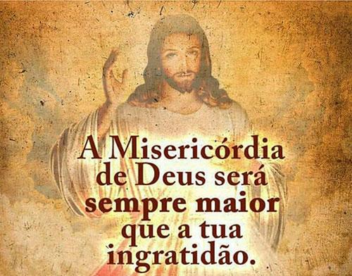 A misericórdia de Deus será sempre maior
