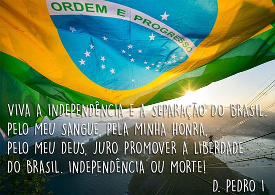 Viva a independência 7 de Setembro