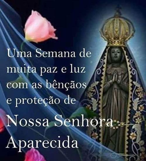Bênçãos e proteção de Nossa Senhora Aparecida