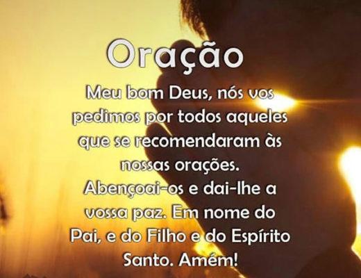 Oração Meu bom Deus