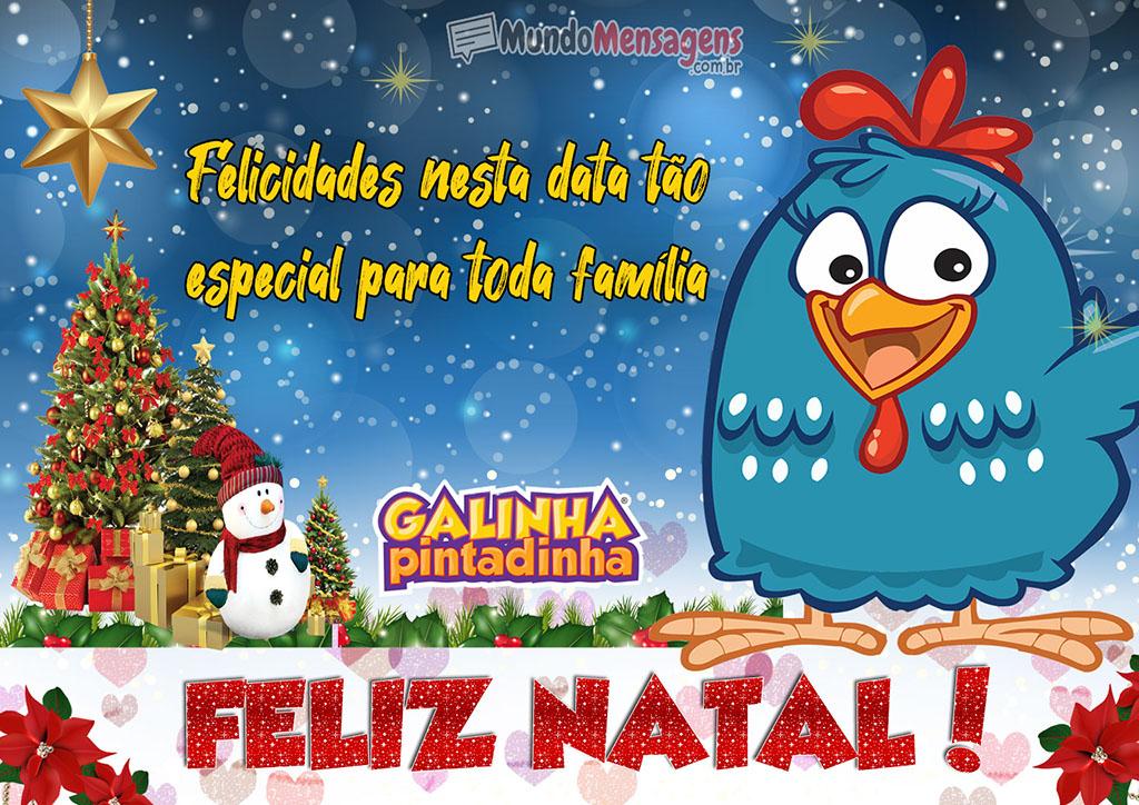 Feliz Natal Galinha Pintadinha