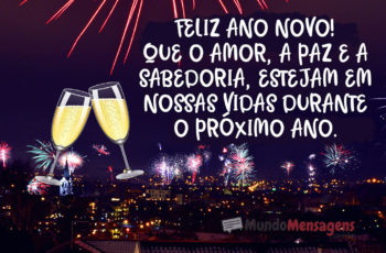 Feliz Ano Novo Mensagem de Amor