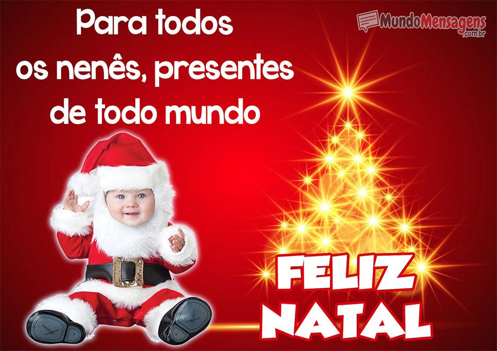 Feliz Natal Para todos os Nenés
