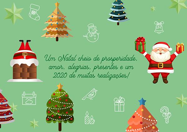 Feliz Natal E Um 2020 De Muitas Realizações Mundo Mensagens