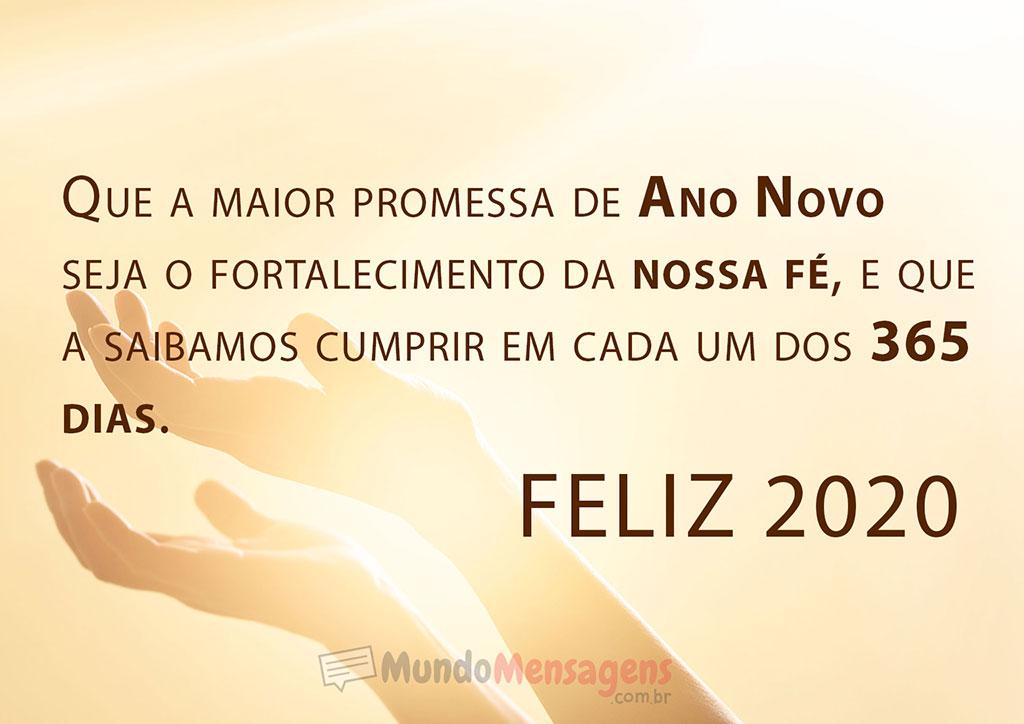 Mensagem Feliz Ano Novo 2020