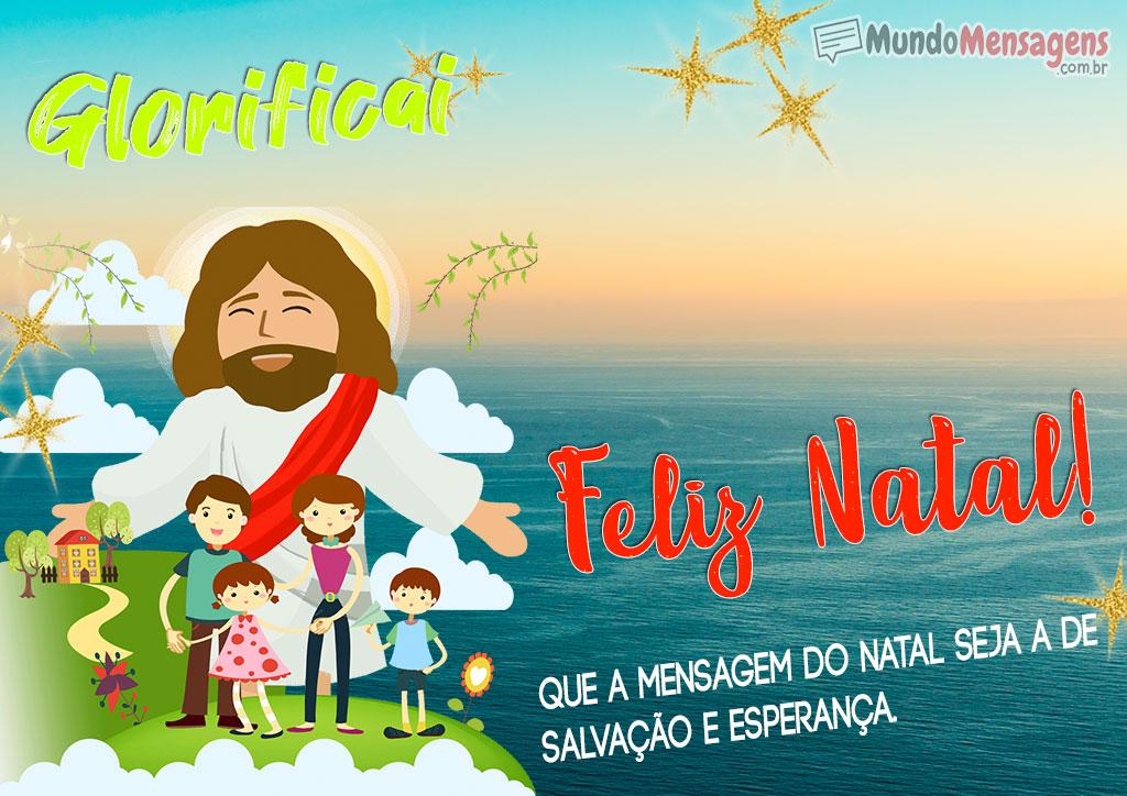 Salvação e Esperança Mensagem de Natal