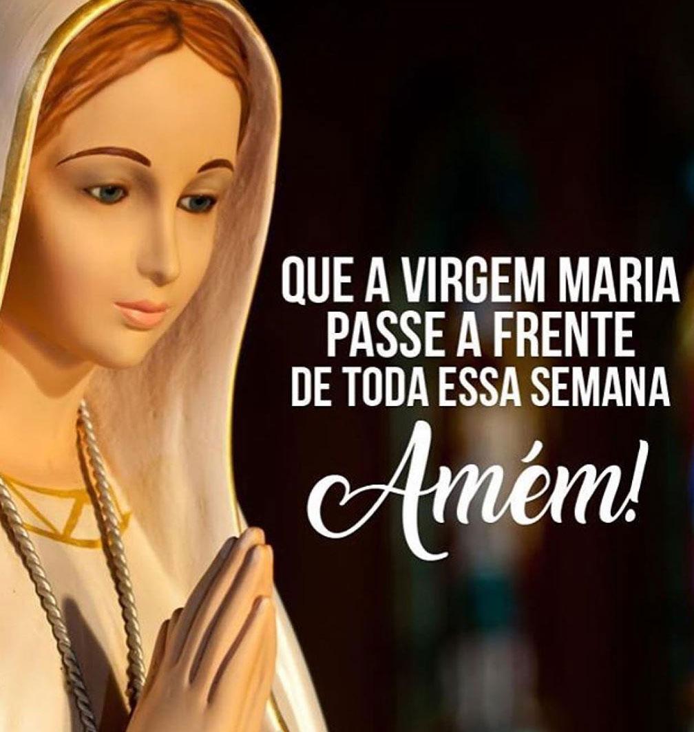 Virgem Maria passe a frente