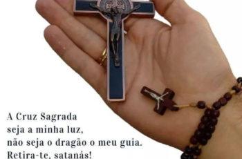 A Cruz Sagrada seja a minha luz