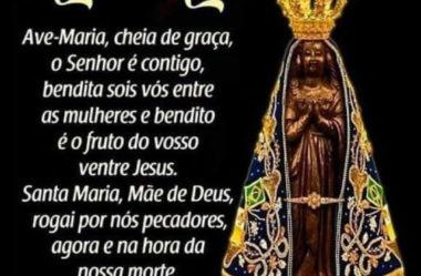 Ave Maria Oração