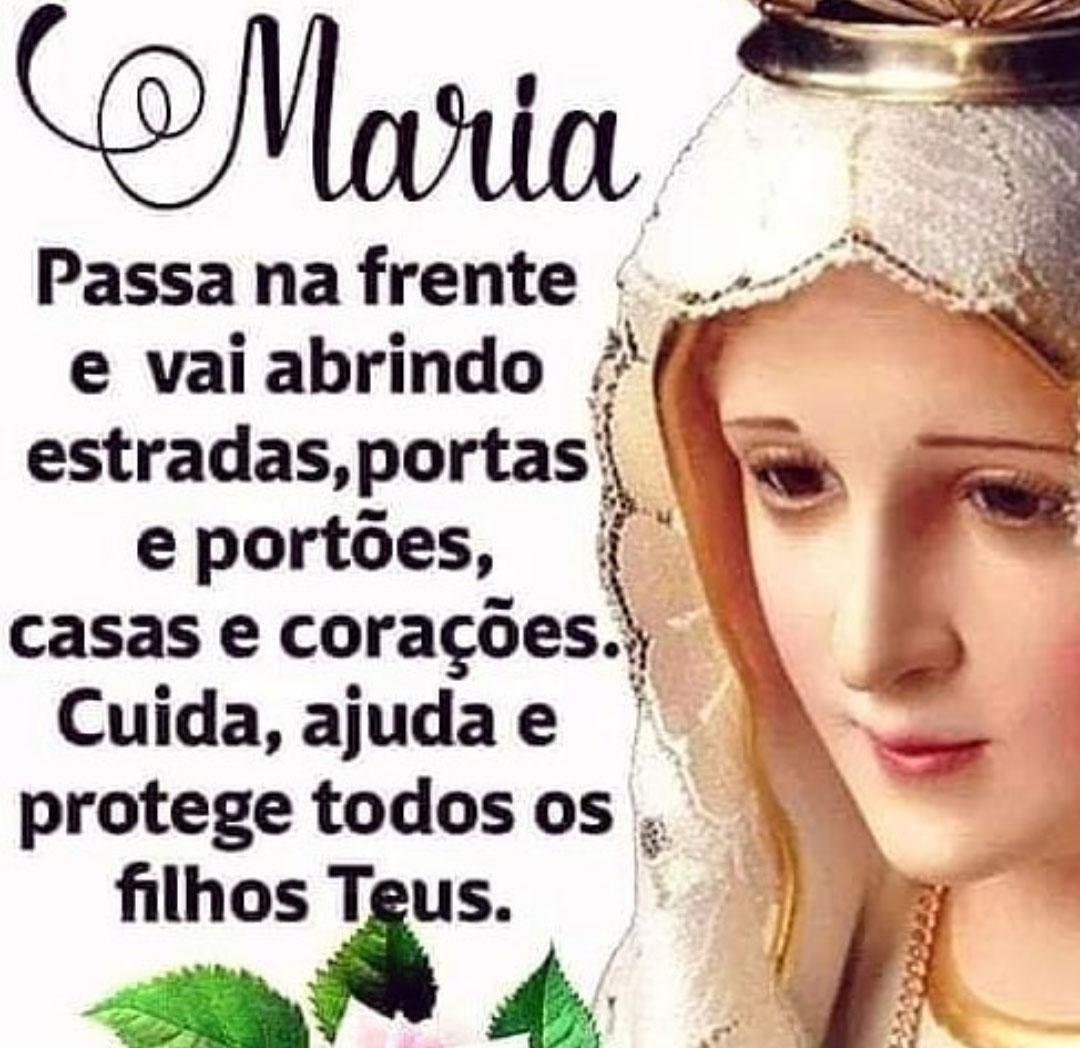 Maria ajuda a protege todos os filhos Teus