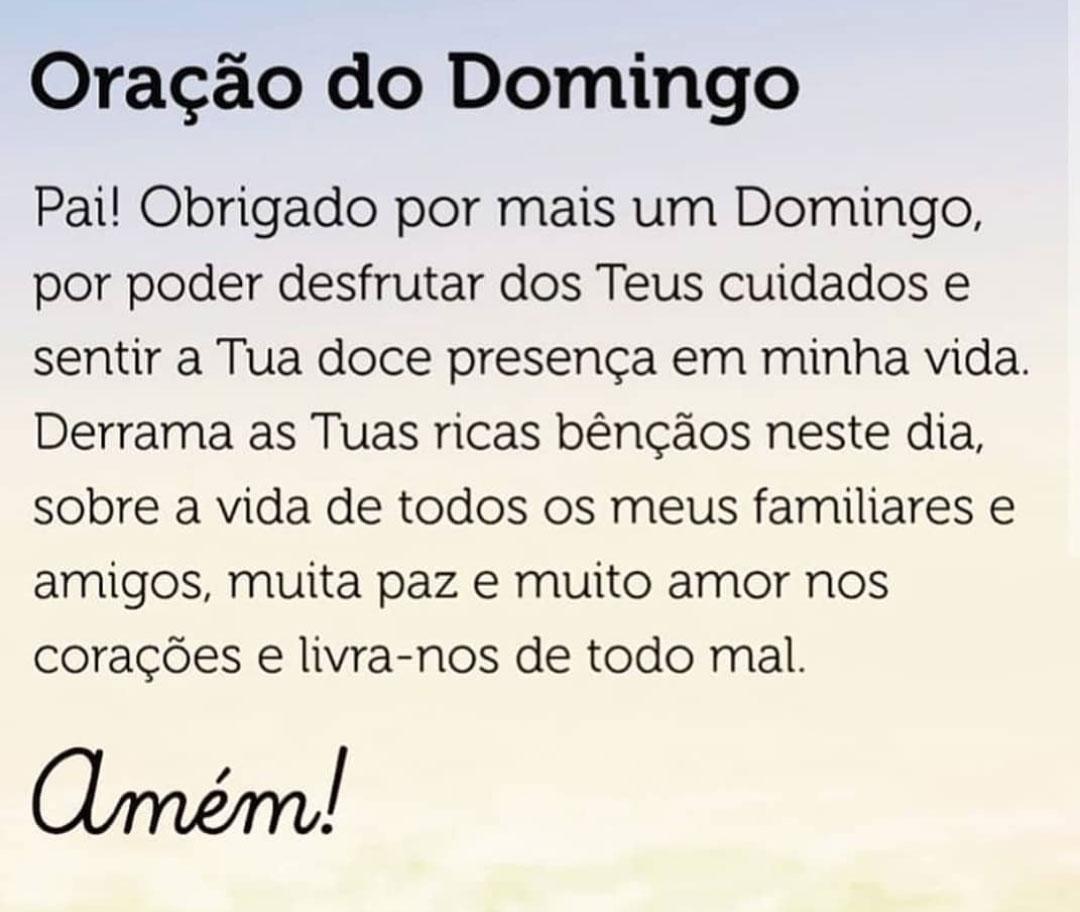 Oração do Domingo