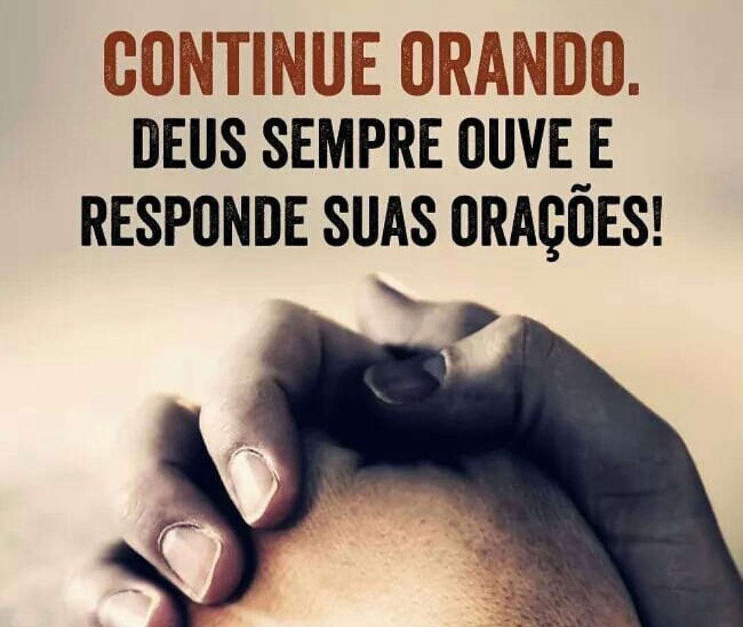 Continue orando