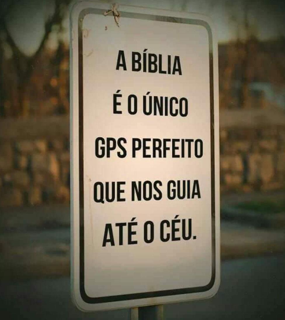 GPS perfeito que nos guia