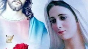 Com a Santa presença de Jesus e Nossa Senhora
