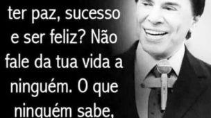 Queres ter paz sucesso e ser feliz