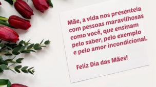Amor incondicional Feliz dia das Mães