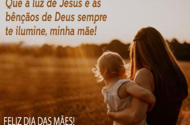 Deus sempre te ilumine minha mãe