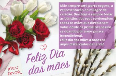Feliz dia das mães a todos os anjos disfarçados na Terra