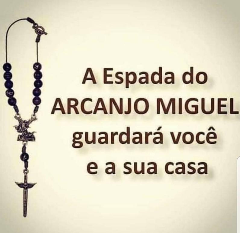 A espada do arcanjo Miguel