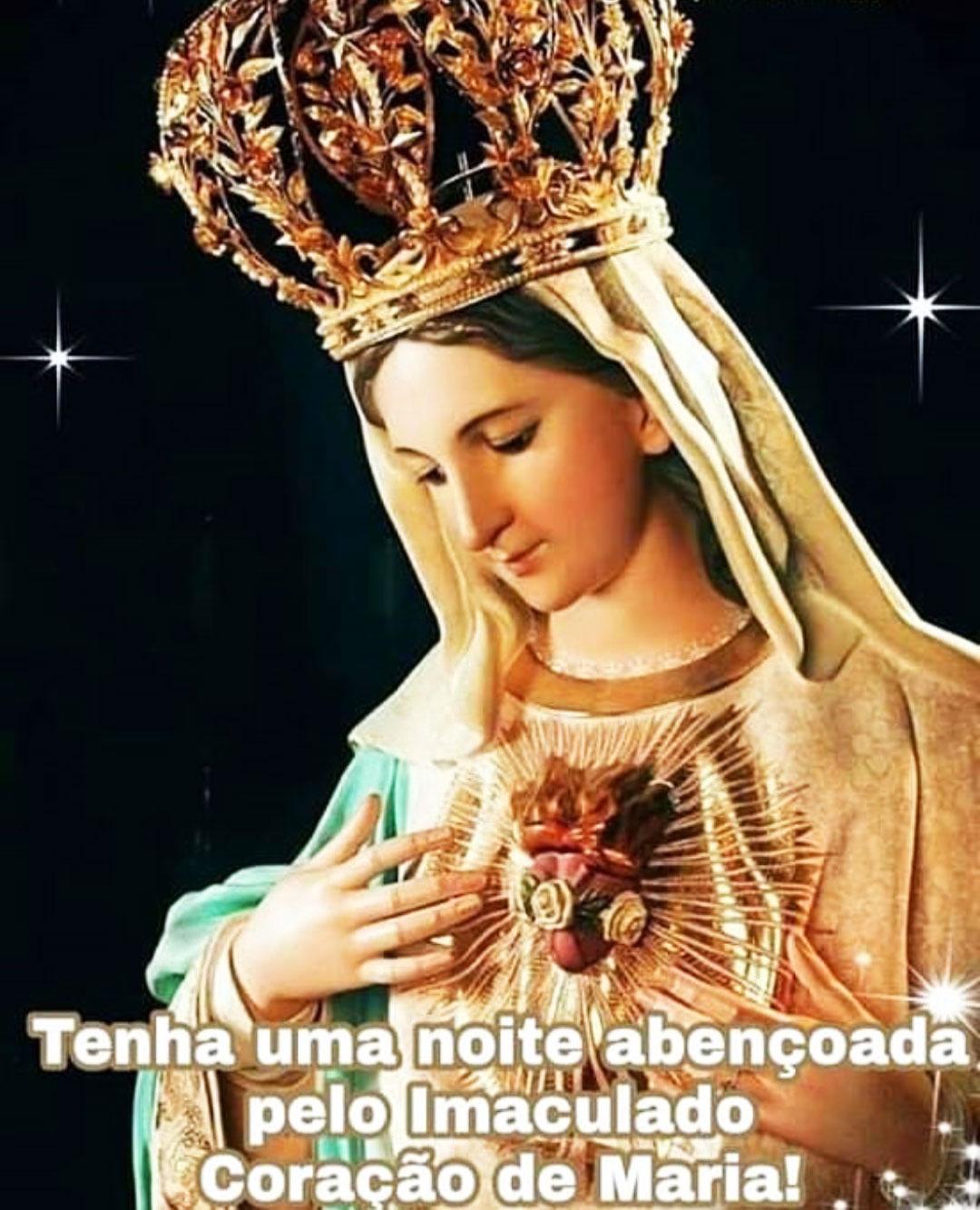 Abençoada pelo Imaculado Coração de Maria