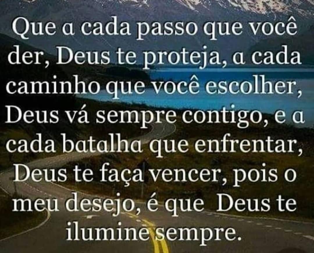Deus vá sempre contigo