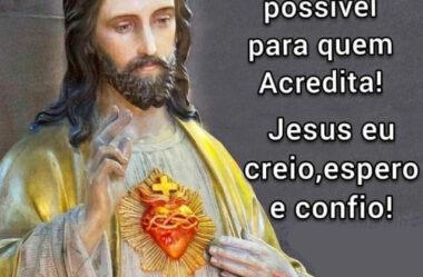 Jesus eu Creio Espero e Confio