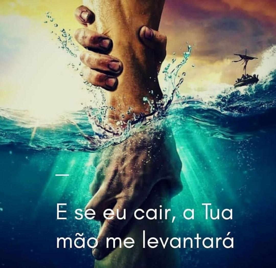 Tua mão me levantará