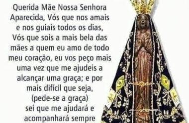 Oração Especial Nossa Senhora Aparecida
