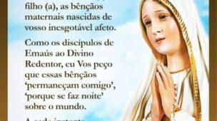 Pedido a Nossa Senhora de Fátima